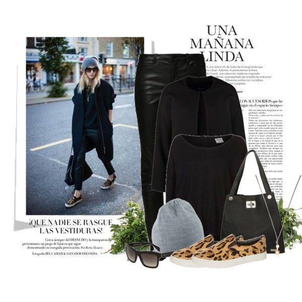 Zestaw z 27 stycznia, składający się m.in. z Spodnie Vero Moda, Sweter Vero Moda, Torebka miejska Venezia.