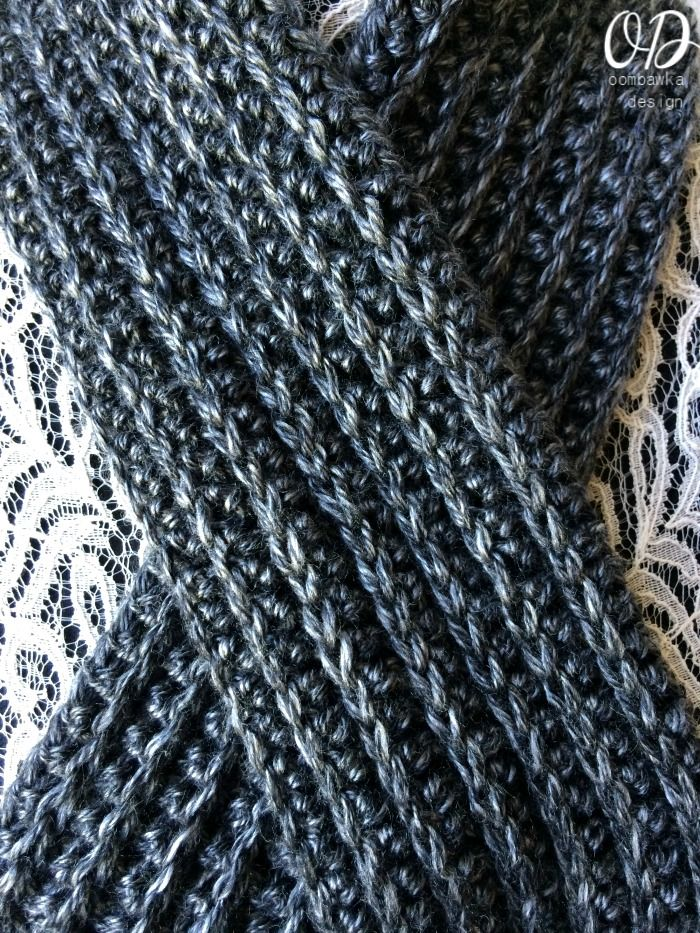 Just For Him Classic Ribbed Scarf Pattern Crochet