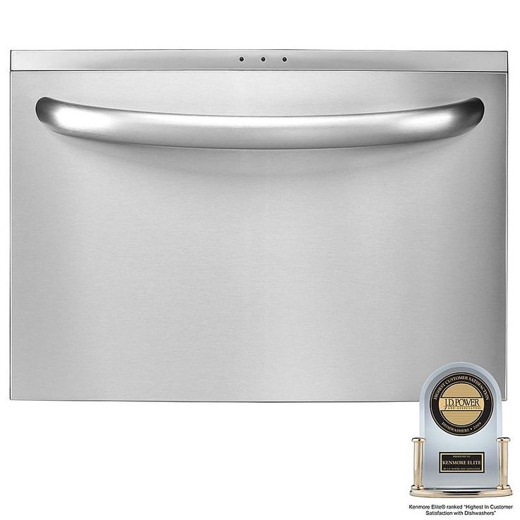 """Kenmore Elite - 13323 - 24"""" Single Drawer Dishwasher with Spin Action (1332) 