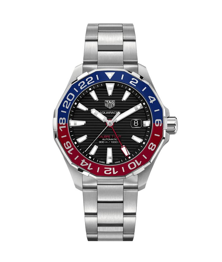 Aquaracer   Aquaracer - 300M Calibre 7 GMT - 43 mm WAY201F.BA0927  TAG Heuer watch price - TAG Heuer