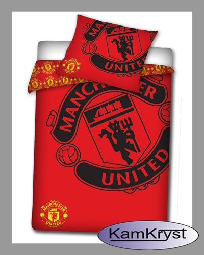 Bedding Manchester United   Pościel Manchester United #Manchester_United #Manchester_United_bedding