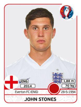 133 John Stones - Inglaterra - EURO 2016