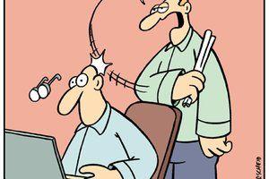 Comic - Karikaturen & Comics von Perscheid, Wumo & Tundra