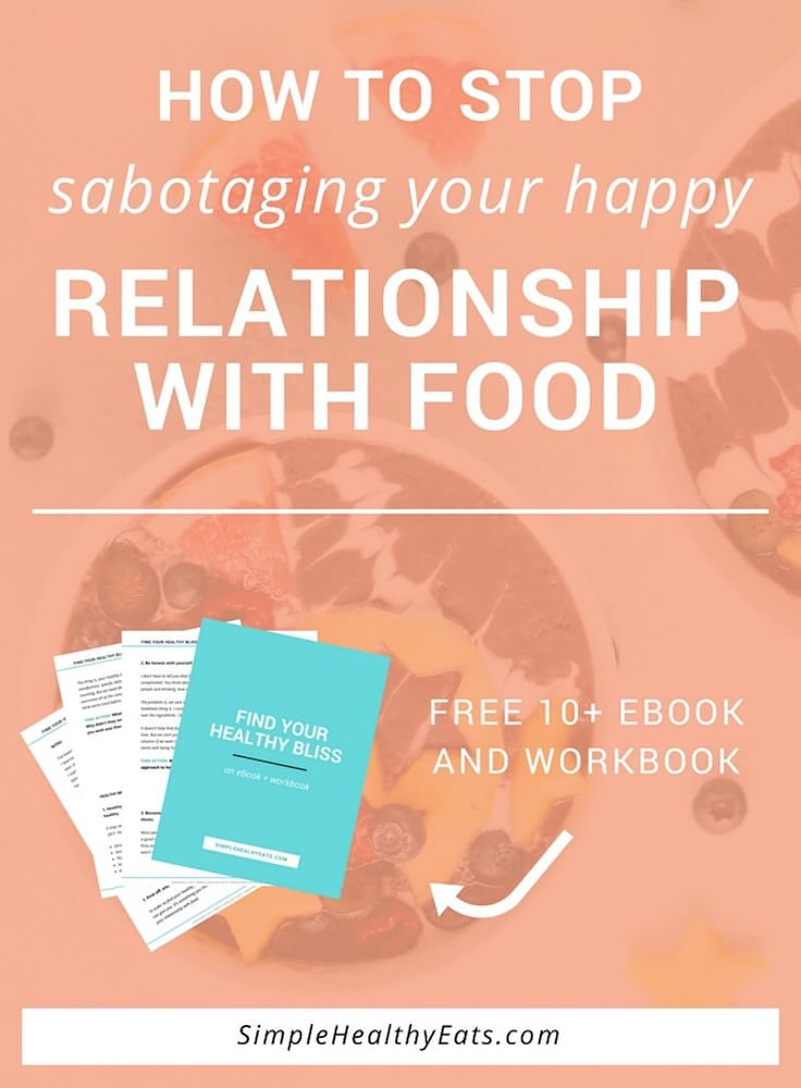 how to break the relationship with food