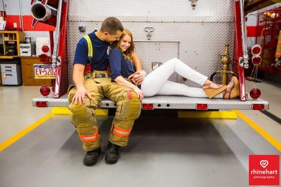 Firefighter Engagement Photographer (5)