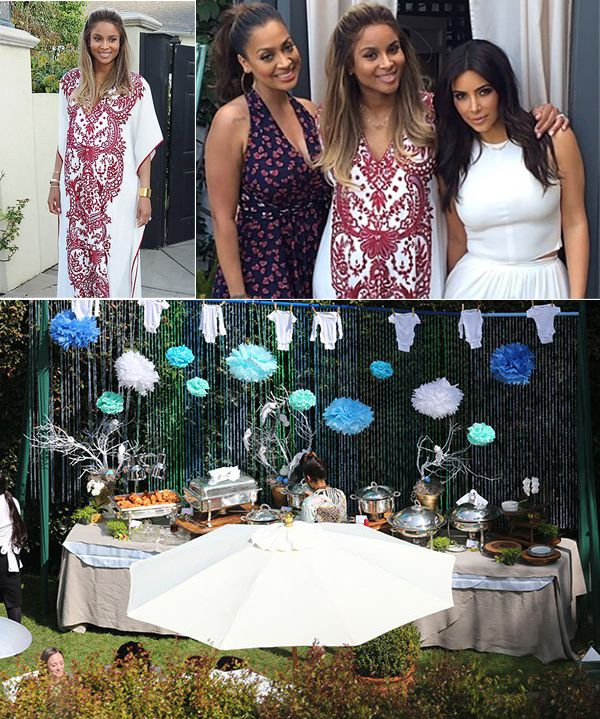 Celeb Baby Showers Part - 48: Ciarau0027s Baby Shower With Other Celebs. Looks Like A Cute Onesie Theme Like  Http: