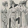 Mode 1910 pour le théâtre vintage