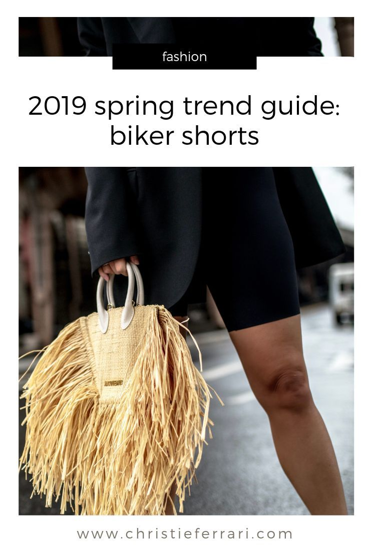2019 Spring Trend Guide: Biker Shorts   – Style Inspiration – #Biker #Guide #Ins…   – Biker Shorts