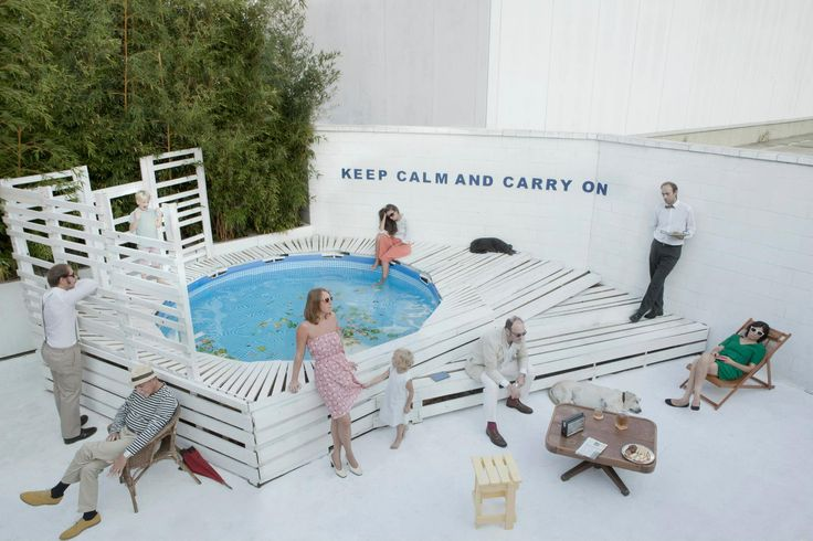 keep calm and carry on //SLUMP!byPollodesign