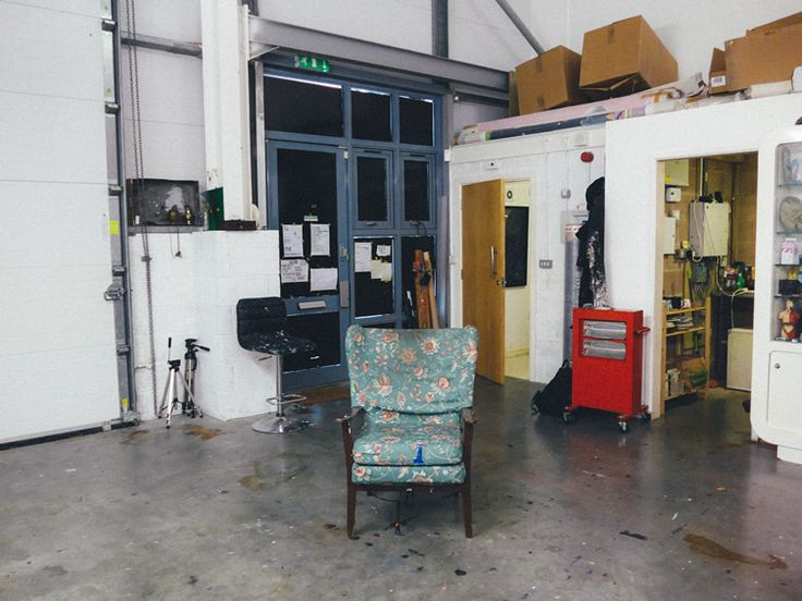 We drop by Stuart Semple's studio, quizzing the artist on his views of our modern age... http://www.we-heart.com/2014/11/04/stuart-semple-anxiety-generation-delahunty-london/