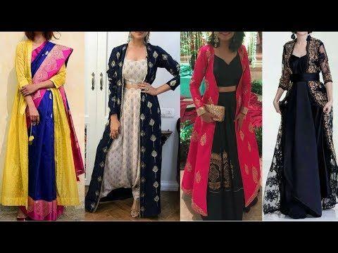 f82e354faa Shrug Designs   Embroidered Shrugs designs for Kurti / Lehenga/ Palazzo  sets   Pakistani Jackets - YouTube