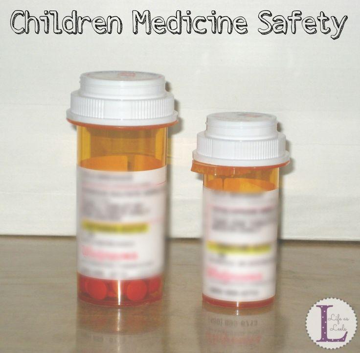 Children Medicine Safety