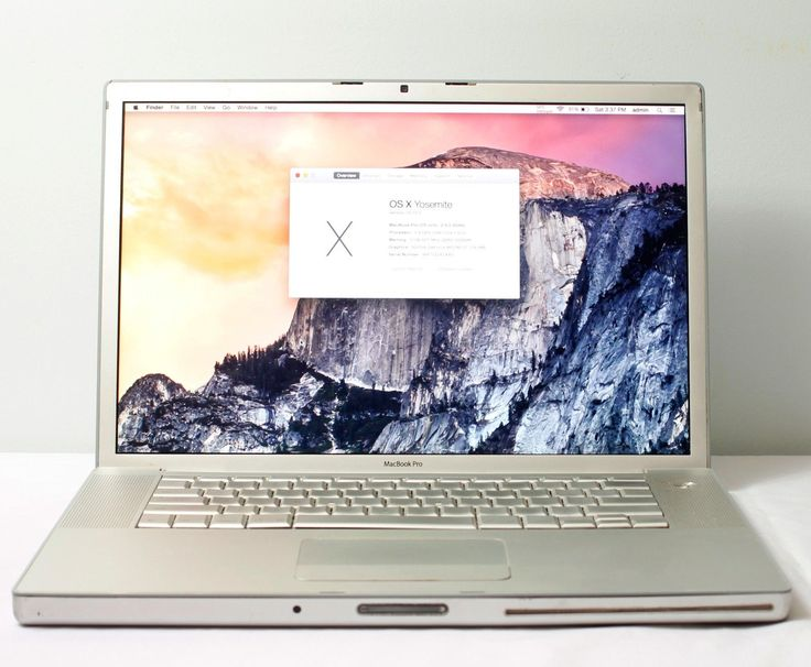 "Apple Macbook Pro A1226 15.4"" 2.4 Core 2 Duo 160GB HDD 2GB RAM OEM battery"