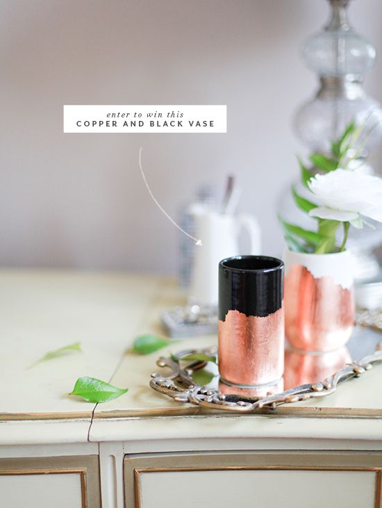 Last day to win this lovely. Can't get enough copper right now.