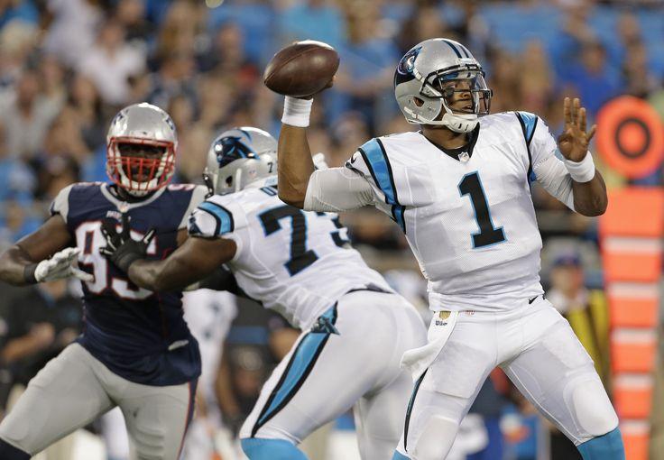 8/28 Patriots Preseason Game #3 Cam Newton
