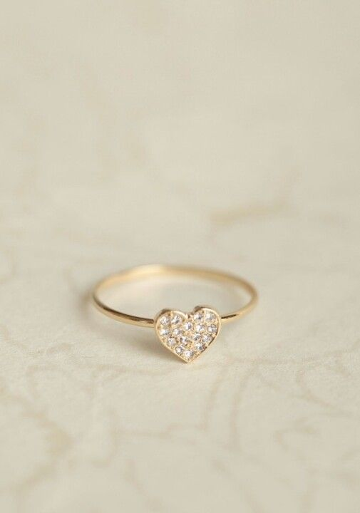 Cute promise ring idea