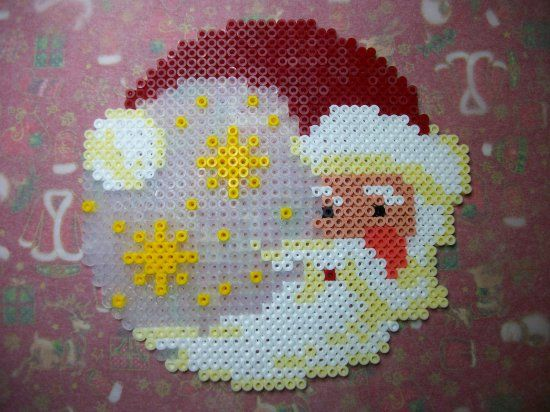 Santa Claus - Christmas hama perler beads by Nath Hour