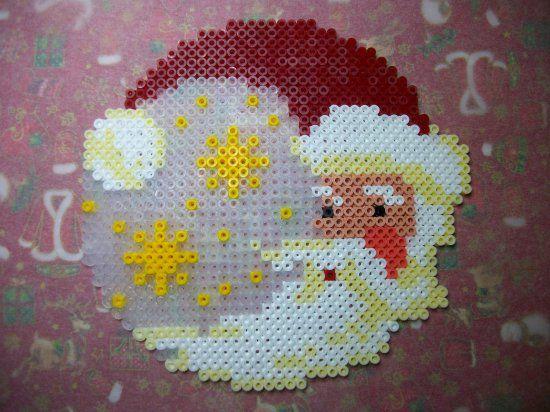 Santa Claus - Christmas hama perler beads by Nath Hour