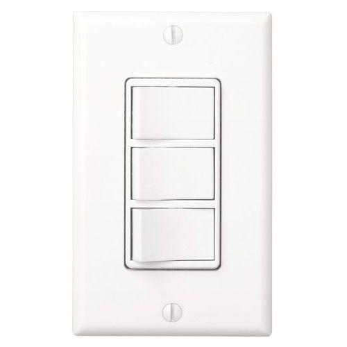 Contemporary Art Sites Broan DW Bathroom Switch Function Control Heater Fan Light Night