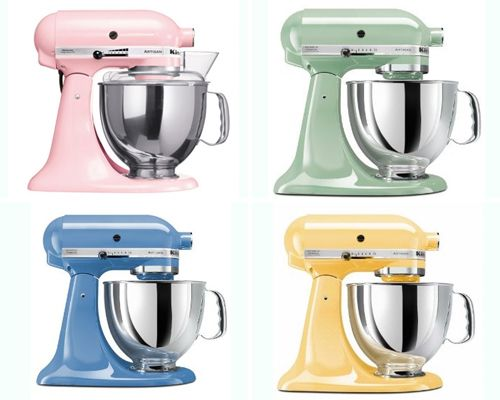 36 best images about pastel Kitchen Aid mixers on Pinterest