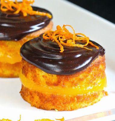 SUPER YUMMMM Gluten Free Alchemist  Posh 'Jaffa' Cakes try adding #fingerlimes