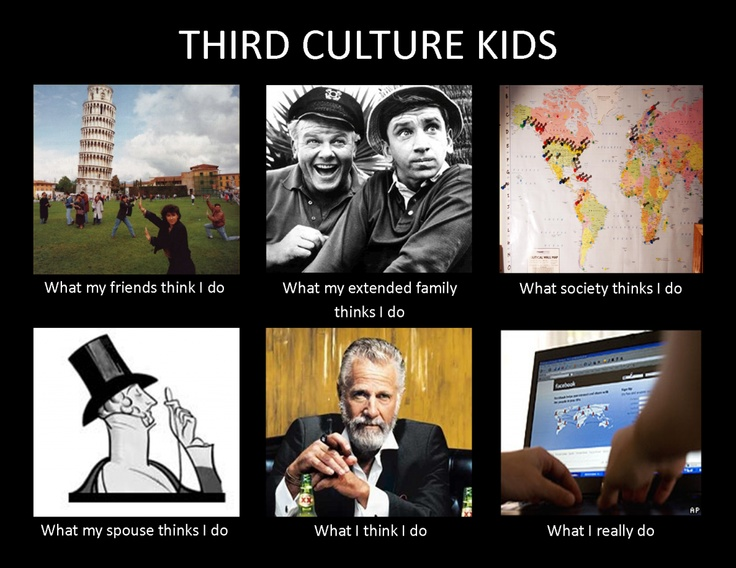 For those of you who don't know me, I'm a third culture ...