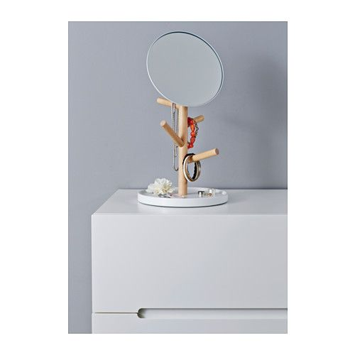 14 best images about pr sentoir bijoux on pinterest for Miroir a coller ikea