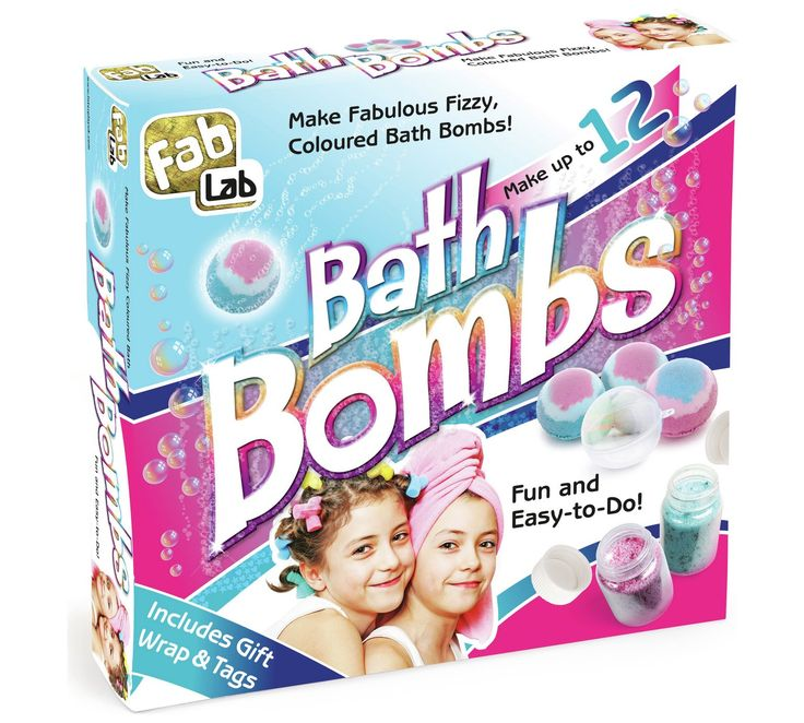 Buy FabLab Bath Bombs at Argos.co.uk, visit Argos.co.uk to shop online for Toy craft kits, Creative and science toys, Toys