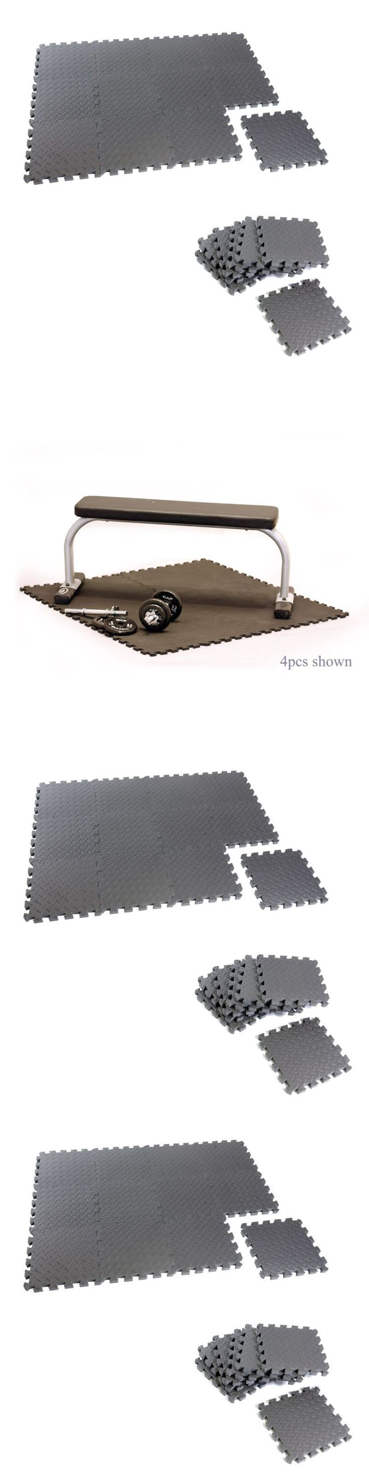 Equipment Mats and Flooring 179806: Equipment Puzzle Mat Floor Interlocking Foam For Yoga Exercise Gym Workout 12Pcs -> BUY IT NOW ONLY: $30.44 on eBay!