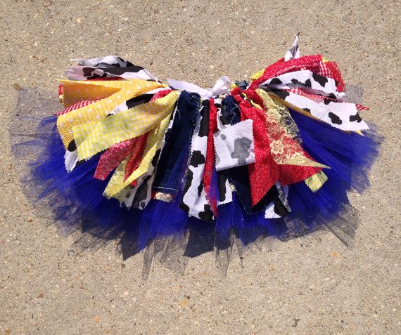 Inspired by Toy Story Tutu cowgirl tutu Jessie tutu by LilNicks
