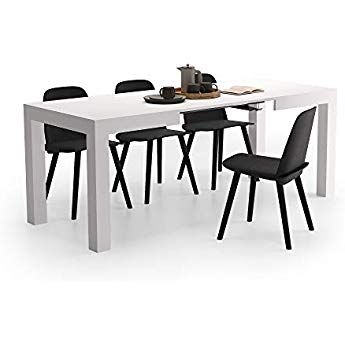 Mobili Fiver, Table Extensible Cuisine, First, Frêne Blanc, 120-200 ...