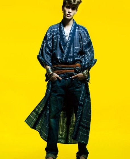 The Isetan Shinjuku store's campaign caught WardrobeTrendsFashion (WTF)'s eye! You've got to check out their 'TOKYO SUMMER MADNESS or How I Learned To Stop Wearing A Shirt And Love The Yukata'. The Stage initiative is a collaborative project with a series of high profile Japanese brands.