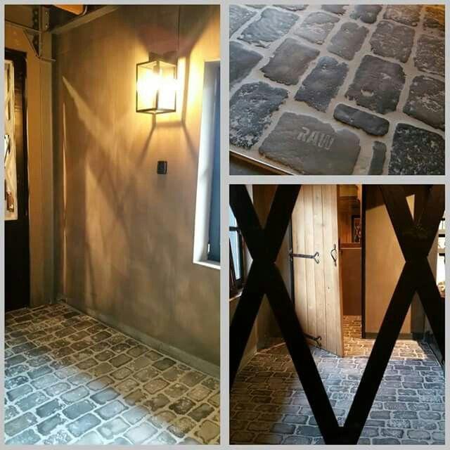 Prachtige deur en vloer