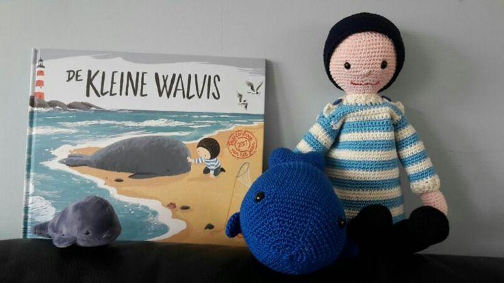 Gehaakte Boy en de grote walvis