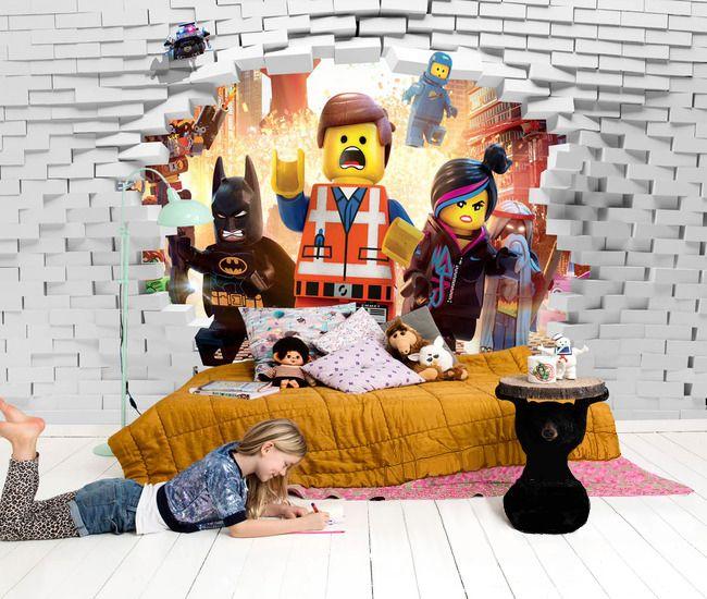 papier peint personnalis pour enfant effet 3d chambre nathan pinterest papier peint. Black Bedroom Furniture Sets. Home Design Ideas