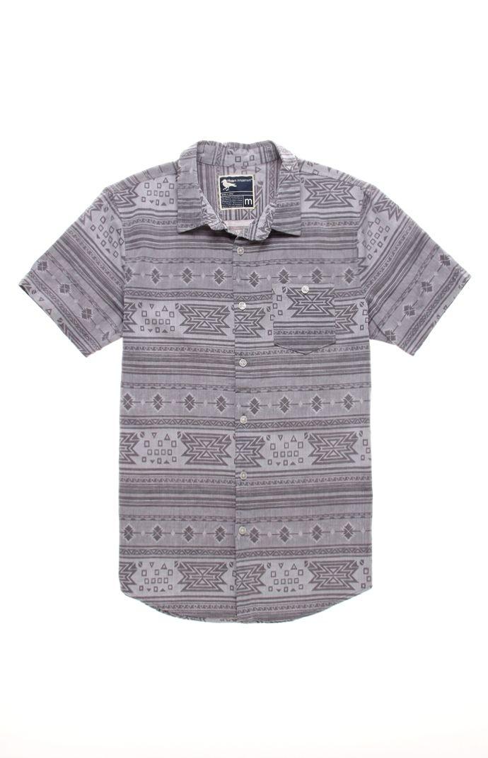 Modern Amusement Jay Jacquard Short Sleeve Woven Shirt