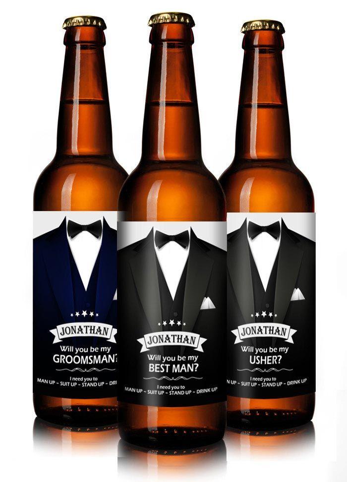 Personalised beer labels