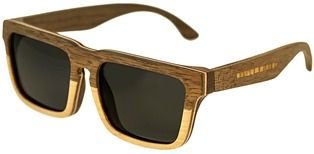 Earth Wood Pensacola Polarized Sunglasses.