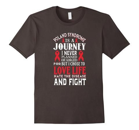 Poland Syndrome Awareness T-shirt | One of the largest and best collection of Mother's day style sayings and graphic tee shirts anywhere on the web. The great gift for your mom or wife. More styles daily updated!