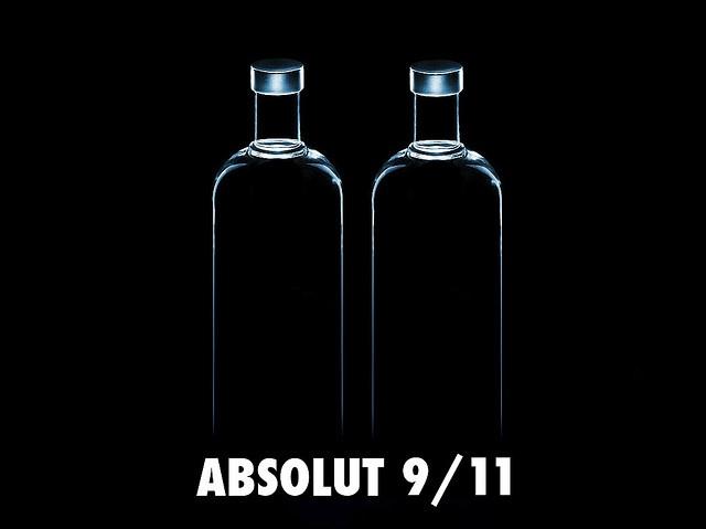 9/11 Absolut Vodka Design Ads