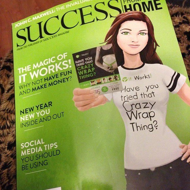 It Works Body Wraps in SUCCESS from Home Magazine! www.facebook.com/NewLifeBodyWraps | #ItWorksBodyWraps #fitness #health #salon #spa #NewLifeBodyWraps