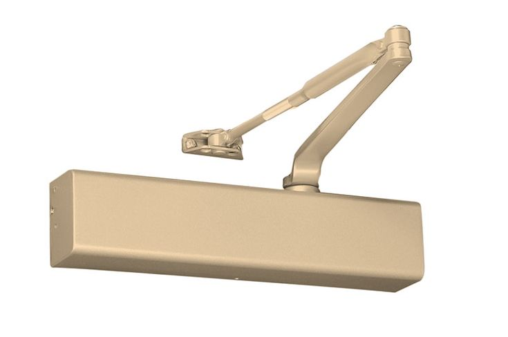 """Yale TJ3511 694 Door Closer Top Jamb w/2-3/4"""" to 6-3/4"""" Reveals Hold Open Size 1-6 Full Cover"""