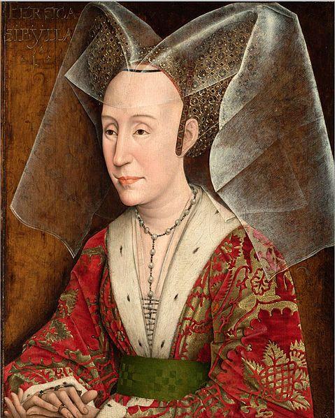 15TH CENTURY FASHION--Isabella of Portugal, Duchess of Burgundy 1470-1498…