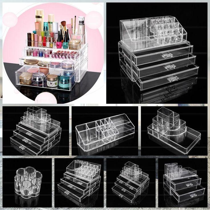 NEU 9 Modell Kosmetik Organizer Make-Up Aufbewahrung Ständer Schubladen Box | Beauty & Gesundheit, Make-up, Make-up-Utensilien | eBay!