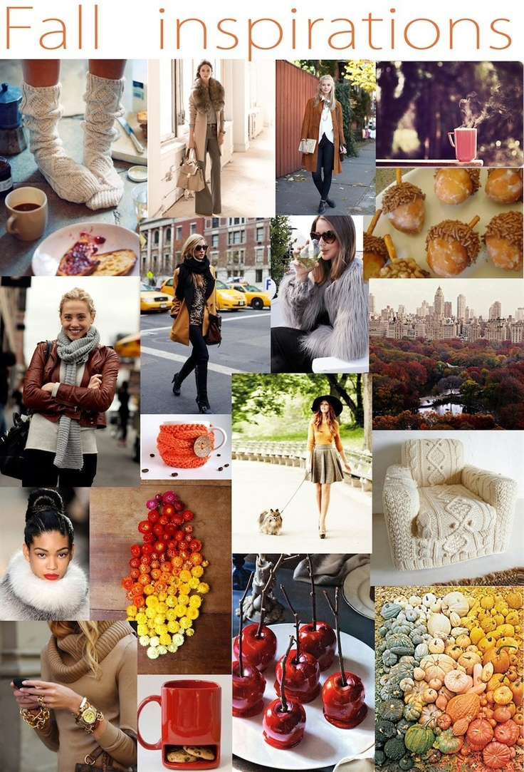 Fall inspirations: Fun Fall, Fall Wint Inspiration, Color Fall, Inspiration Boards, Fall 2012, Fallwint Inspiration, Fall Inspiration, Fashion Inspiration, Fall Idea