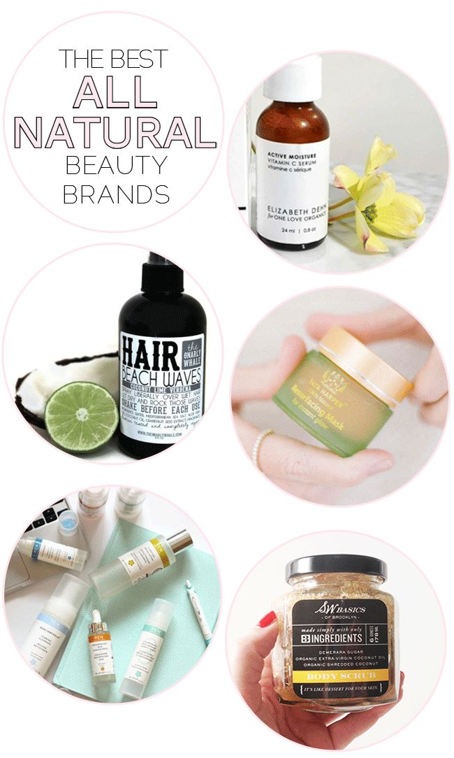 best all natural beauty brands!