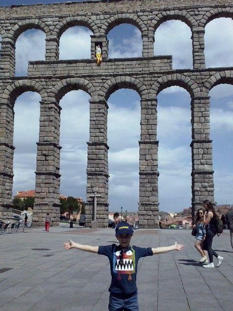 yo en Segovia. 2014