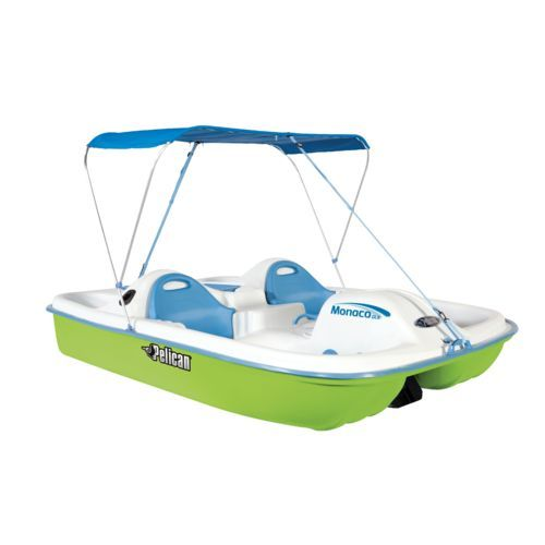 "Image for Pelican Monaco DLX Angler 7'6"" Pedal Boat from Academy"