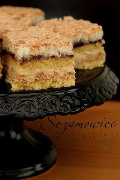 Sezamowiec, Poland | seasem cake