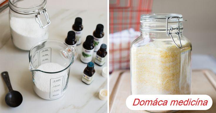 Domáci prací prášok z esenciálnych olejov | Domáca Medicína